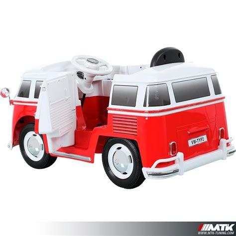 siege de bureau baquet voiture électrique pour enfant vw combi 12 volts