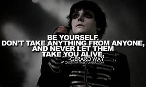 gerard, mcr, quote - image #440974 on Favim.com