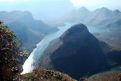 River Canyon Blyde Mpumalanga Africa South