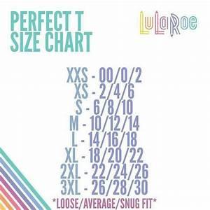 Perfect T Size Chart Lularoe Business Ideas Pinterest