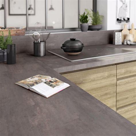 plan de travail cuisine stratifié leroy merlin plan de travail droit stratifié acier trempé 315 x 65 cm