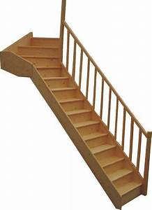 Escalier Quart Tournant Haut Droit : escalier demi tournant leroy merlin escalier quart ~ Dailycaller-alerts.com Idées de Décoration