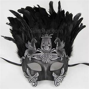 ROMAN WARRIOR GREEK VENETIAN half face MASK masquerade ...
