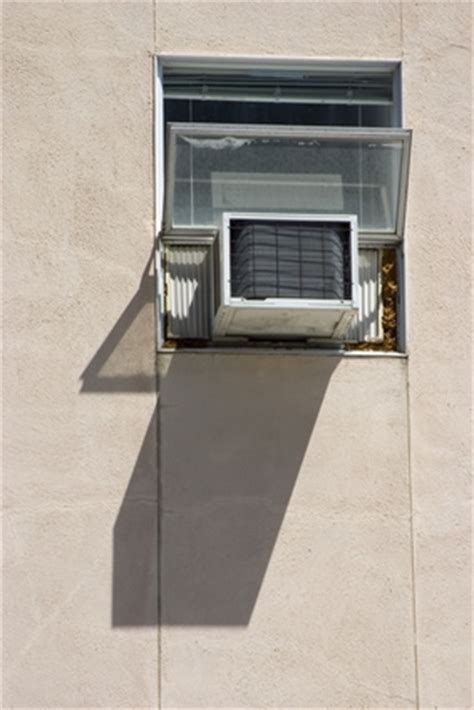 vent portable air conditioner crank window ehow