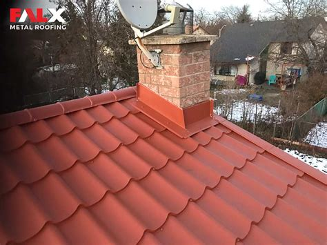 terracotta roof falx metal roofing