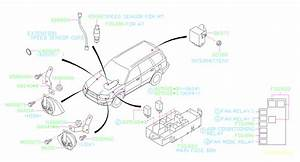 2005 Subaru Forester Relay  Electrical  Body  Control