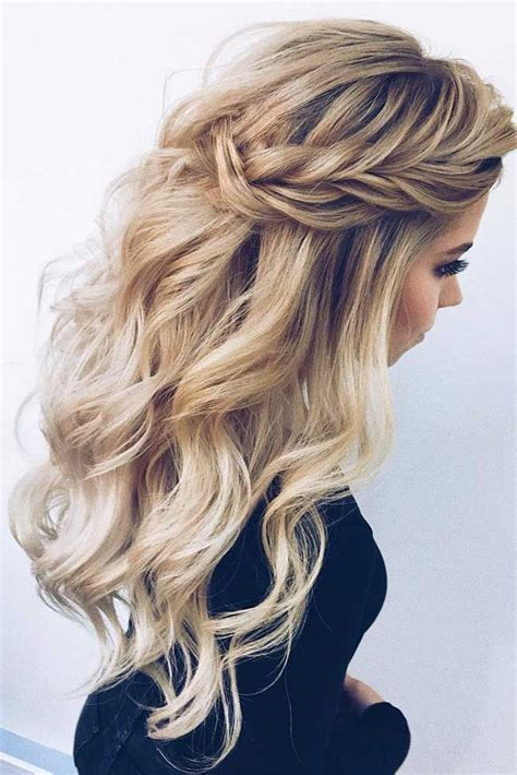 Hairstyles For Evening Wear by 27 Dreamy Prom Hairstyles For A Out Peinados