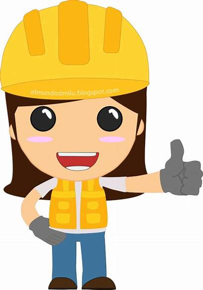 Clipart Engineer Female Engineering Lady Transparent Dia