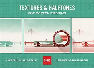 Poster Design: Textures and Halftones for Screen Printing ...