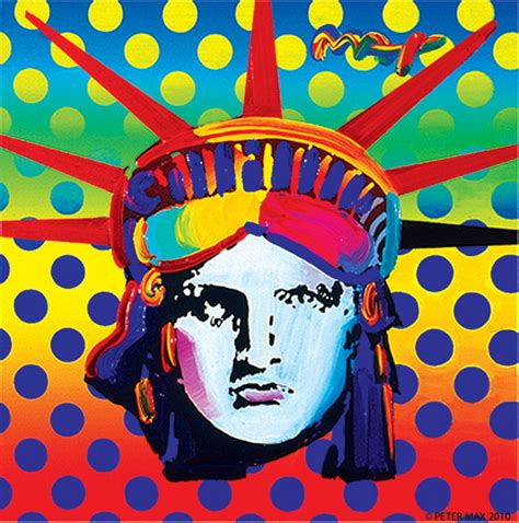 Peter Max Isn't A Fad, He's A Great Artist  Art Review