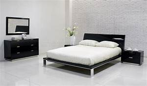 Contemporary black bedroom furniture photos and video for Contemporary black bedroom furniture