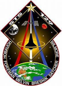 Space Shuttle Atlantis STS-129 logo | Follow The Money