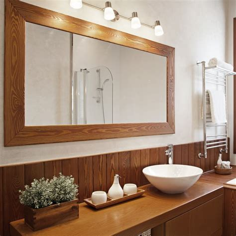 Hang Bathroom Mirror by How To Hang A Heavy Mirror The Family Handyman