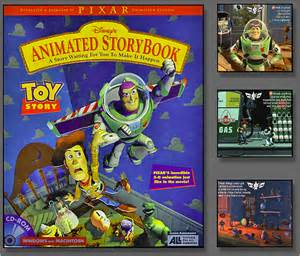 Toy Story Animated Storybook CD