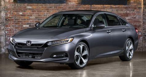 toyota hybrid cars 2018 honda accord unveiled 192 hp 1 5 and 252 hp 2 0