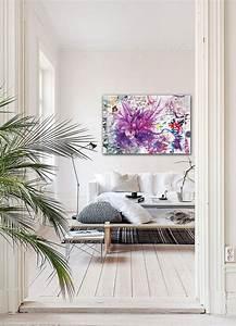 Toile Deco Salon : nouveau tableau fleur divine folie ~ Teatrodelosmanantiales.com Idées de Décoration