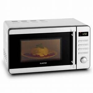 Pizza In Mikrowelle : stella prima mikrowelle 1800w 20 liter edelstahl grill garen auftauen klarstein ~ Markanthonyermac.com Haus und Dekorationen
