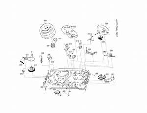 Moving Mechanism Parts Diagram  U0026 Parts List For Model