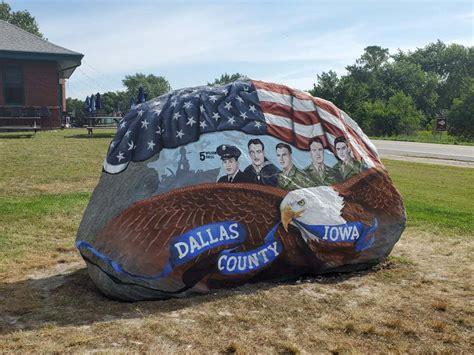 Dallas County Freedom Rock In Minburn Finished