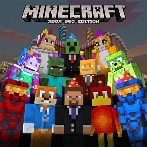 Minecraft Xbox 360s Second Birthday Celebrated With Free