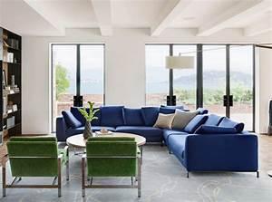 deco salon avec canape bleu des idees novatrices sur la With tapis de gym avec canapé bleu marine 2 places