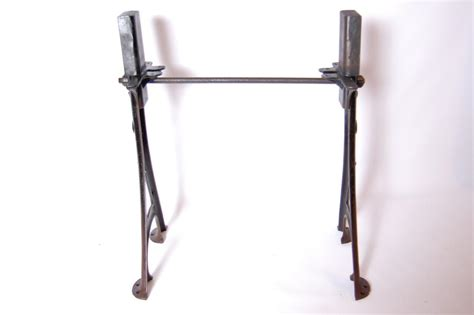 cast iron table legs antique adjustable cast iron table legs desk base vintage