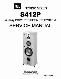 Jbl S412p Studio Series  Serv Man2  Service Manual  U2014 View