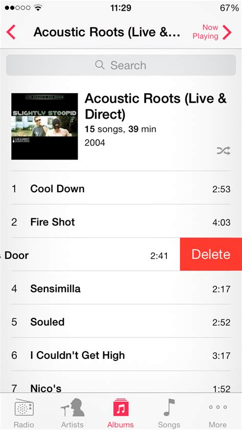 how to delete songs from iphone 5 how to to delete songs from the app
