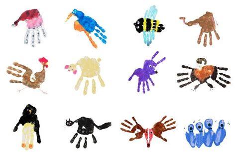 handprint motiveuebersicht ii basteln mit kleinkindern