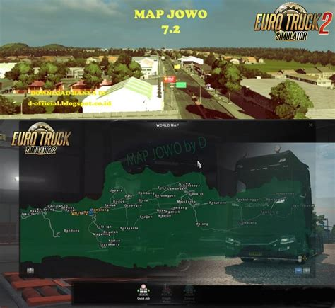map jowo   indonesian map  ets mods