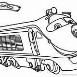 Chuggington Brewster sketch template