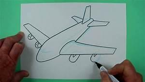 Wie Pflegt Man Einen Weihnachtsstern : wie zeichnet man ein flugzeug zeichnen f r kinder youtube ~ Lizthompson.info Haus und Dekorationen