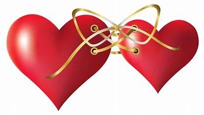 Hearts Clipart Tied Amor Heart Transparent Zezete2