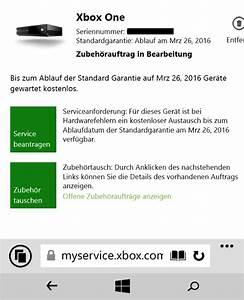 Xbox One Garantie Ohne Rechnung : xbox one so nutzt ihr eure verl ngerte garantie ~ Themetempest.com Abrechnung
