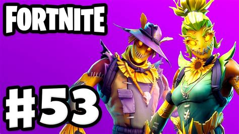 scary scarecrow skins fortnite gameplay part  youtube