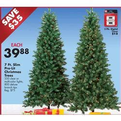 black friday artificial 9 ft christmas tree sales pre lit 350 ct clear lights 7 ft slim tree at big lots black friday 2013