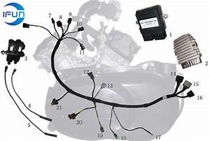Odes 400cc Atv Engine Wiring Harness Odes 400cc Atv Parts