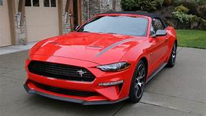 2020 Ford Mustang EcoBoost Convertible with High Performance Package Review | HPP on in