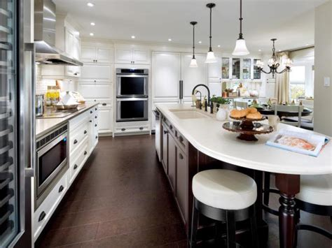 white kitchen cabinets with island white kitchen islands pictures ideas tips from hgtv hgtv 2075