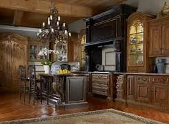 Kitchen Kitchen Ideas Pinterest Window Casing Style And Old 20 Examples Of Stylish Butcher Block Countertops Antique Kitchens Pictures And Design Ideas Old World Kitchen Tuscan Style Pinterest