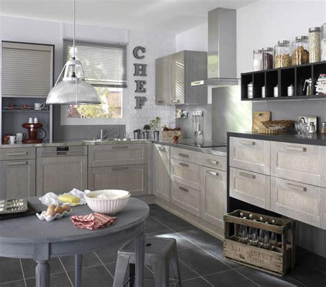 cuisine blanc et grise cuisine gris blanc et bois chaios com