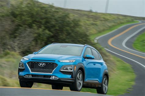 Hyundai Kona 2019 Picture by 2019 Hyundai Kona Adds Active Safety Tech Sees Modest
