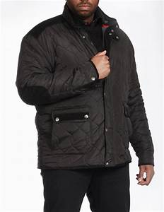 mens kingsize big size padded quilted winter jacket coat With big mens winter coats jackets