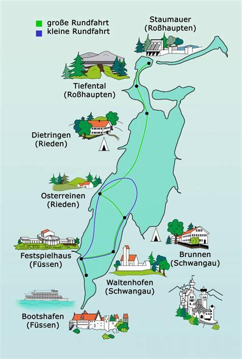 karte (3) - Städtische Forggensee-Schifffahrt