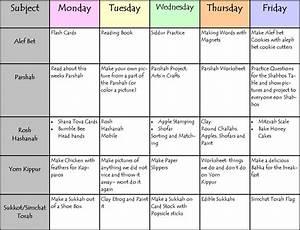 homeschool weekly planning schedule printable trials ireland With weekly schedule template for kids