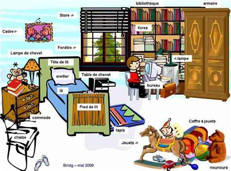 ecole de la chambre vocabulaire ma chambre 2