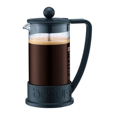 You get complete control over your brew, and you can use a french press coffee maker to make other beverages like tea or even cold brew coffee. Bodum Travel Press Set Coffee Maker with Extra Lid, 0.35 L/12 oz - Off White: Amazon.co.uk ...