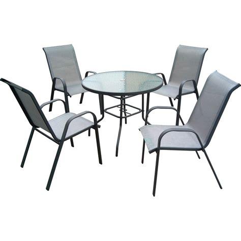 marquee  piece steel sling  outdoor setting ebay