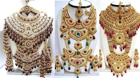 heavy bridal jewellery sets heavy kundan jewellery sets