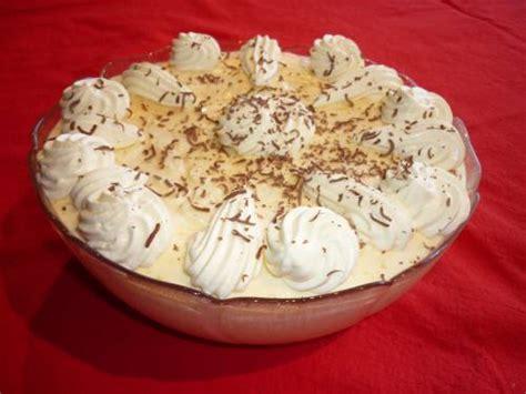 danish orange mousse dessert